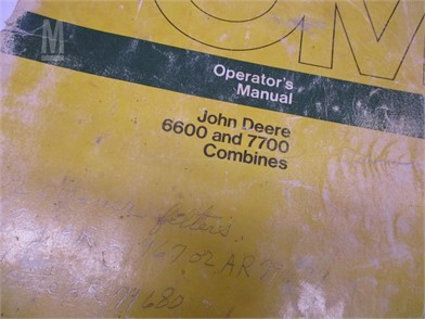 John Deere Manuals Auction Results - 13 Listings