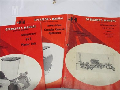 International Manuals Auction Results - 1 Listings