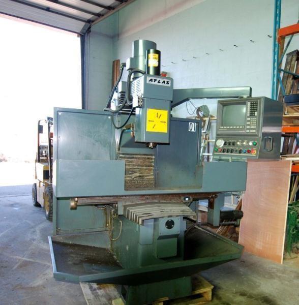 1997 Clausing Atlas Vertical CNC Milling Machine | Thomas Industries