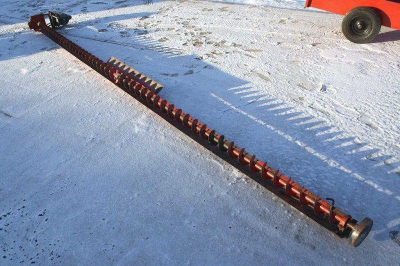 16FT GRAIN BIN SWEEP AUGER WITH ELECTRIC MOTOR | Smith Sales LLC