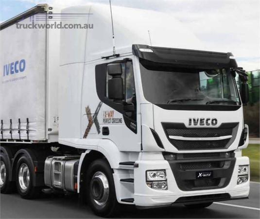 Iveco Stralis X-Way 6x4 Prime Mover AS