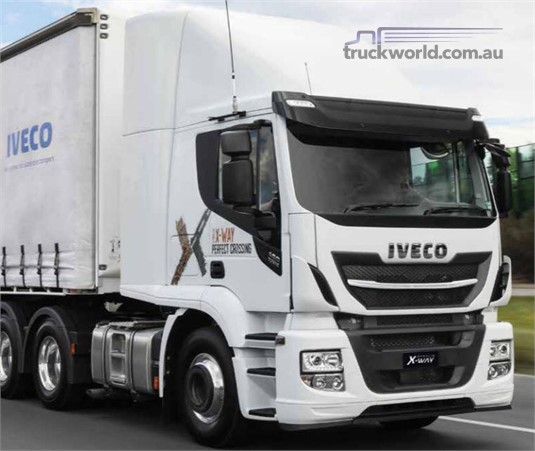 Iveco Stralis X-Way 6x4 Prime Mover AT