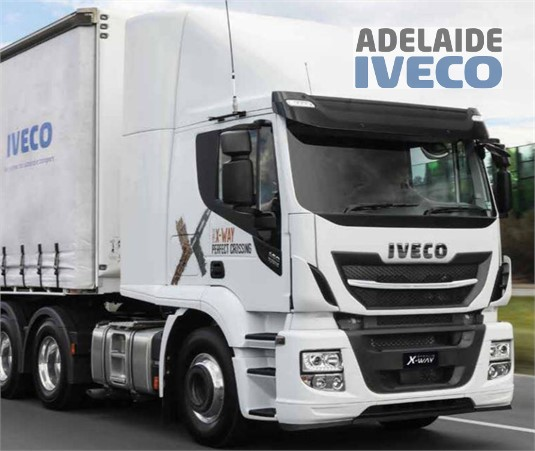 Iveco Stralis X-Way 6x4 Prime Mover AD