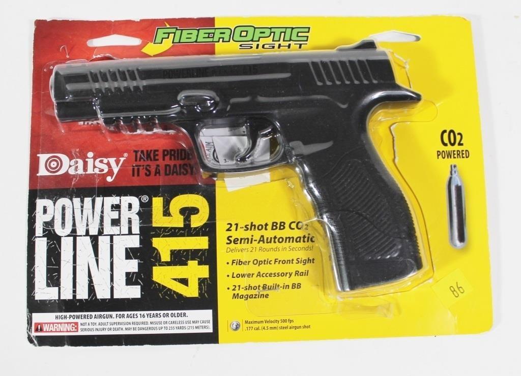 Daisy Powerline 415  177 CO2 21 shot BB gun, used | Hessney