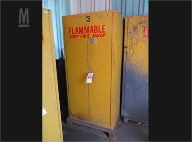 2-DOOR FLAMMABLE LIQUID LOCKER Other Auction Results - 8