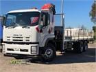 2011 Isuzu FVY 1400 Auto Crane Truck