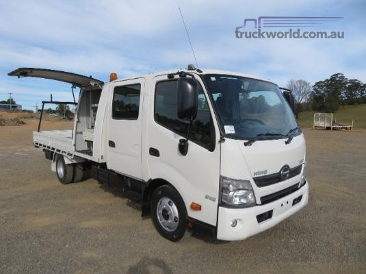 2012 Hino 300 Series 616 Crew Auto Trucks for Sale