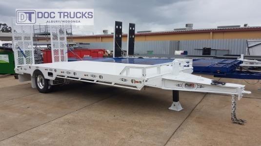2019 FWR Single Axle Tag Trailer DOC Trucks  - Trailers for Sale