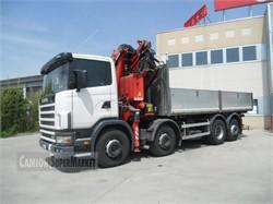 Scania R124g420  Usato