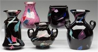 From a selection of Mt. Washington Lava/Sicilian glass