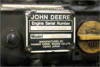3-CYLINDER JOHN DEERE DIESEL MOTOR 430 YANMAR - | HiBid Auctions