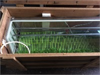 Miyako Sushi industrial refrigerator display case