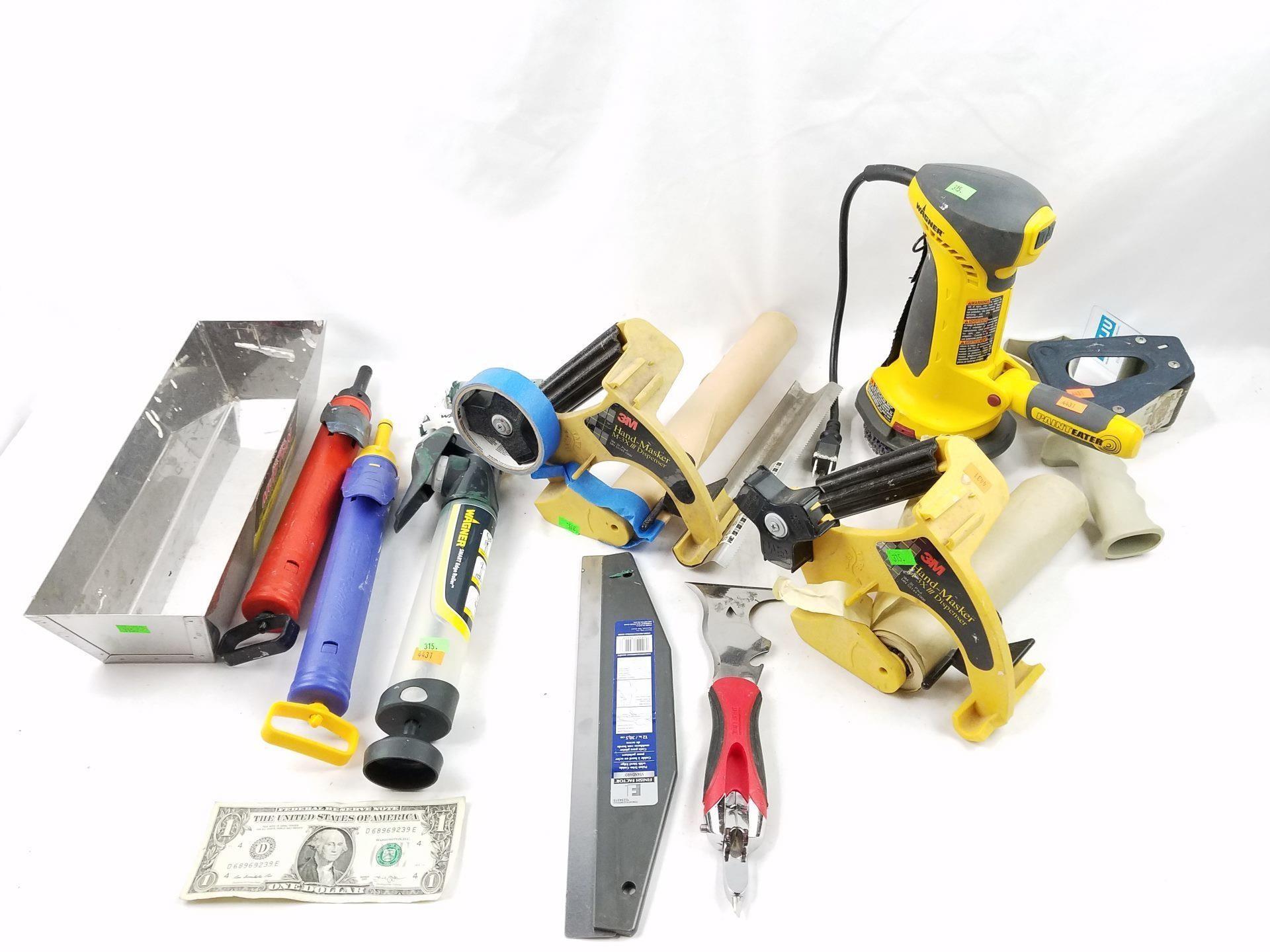 Painting & Drywall Supplies   HiBid Auctions   Washington