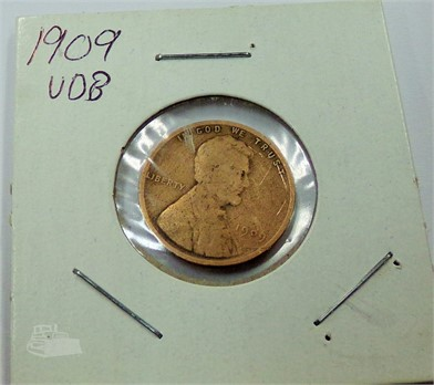 LINCOLN HEAD VDB CENT Other U S  Coins Auction Results - 1 Listings