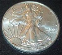 Eagles, Peace, Morgan Coin Auction
