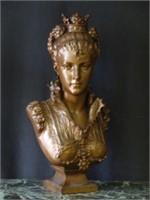 Estate Sale, Clocks, Royal Doultons, Paintings, Bronzes, Etc