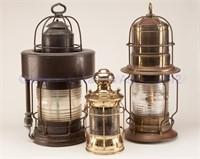 From the Sullivan collection of marine lanterns