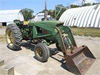 John Deere 4020 w/JD hydraulic loader