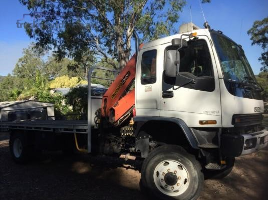2007 Isuzu FTS 750 4x4 Trucks for Sale