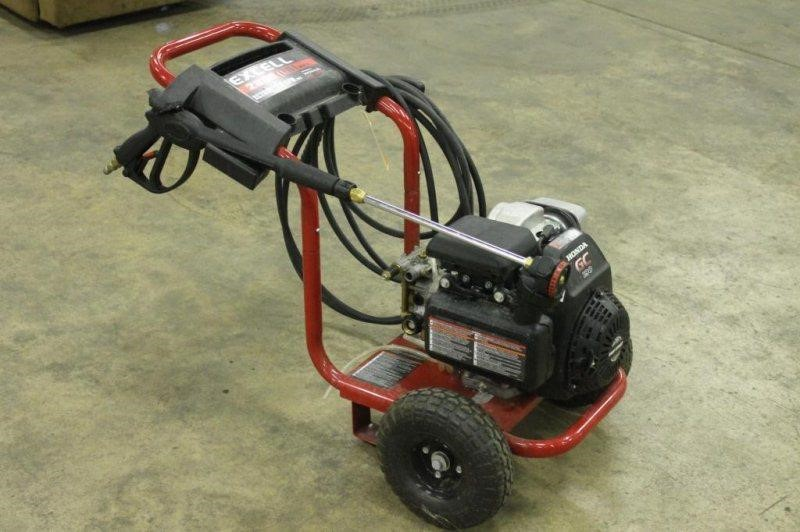 Excell 2800 Psi Max Pressure Washer 2 6 Gpm 6hp Hibid
