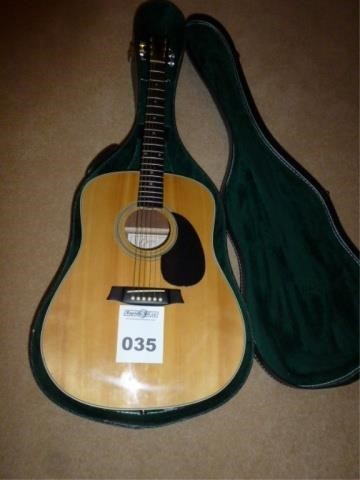 Goya Medalist Series 6 String Guitar | David Moore