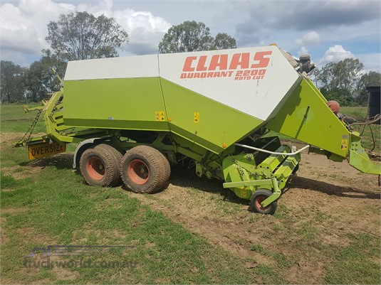 Claas Quadrant 2200 Black Truck Sales - Farm Machinery for Sale