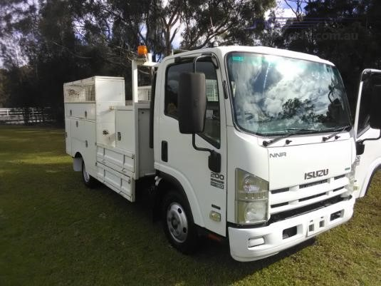 2012 Isuzu NNR 200 AMT Trucks for Sale