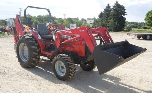 Y-633 2006 Massey Ferguson 1533 Tractor / Backhoe | Pickett