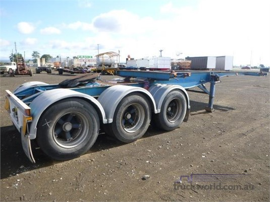 2008 Ace Semi Trailer Skeletal Trailer Western Traders 87 - Trailers for Sale