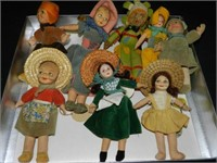 Dolls and Related. Vintage -Present.