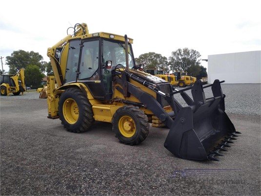 2002 Caterpillar 428D Heavy Machinery for Sale
