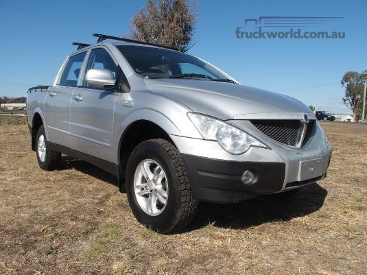 2007 Ssangyong Actyon Dual Cab Light Commercial for Sale