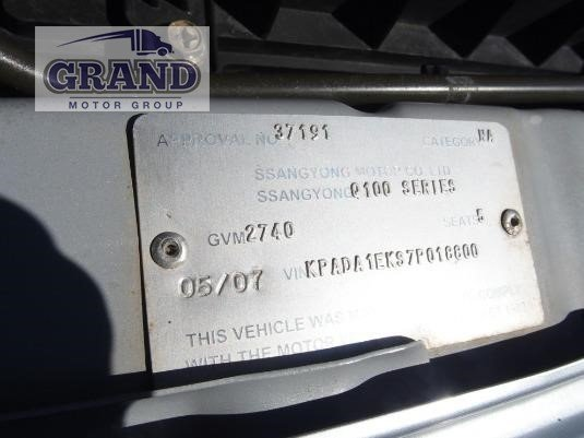 2007 Ssangyong Actyon Dual Cab Grand Motor Group - Light Commercial for Sale