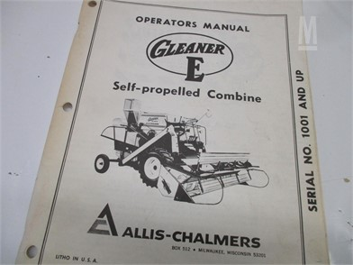 Gleaner Manuals Auction Results - 1 Listings | MarketBook bz - Page