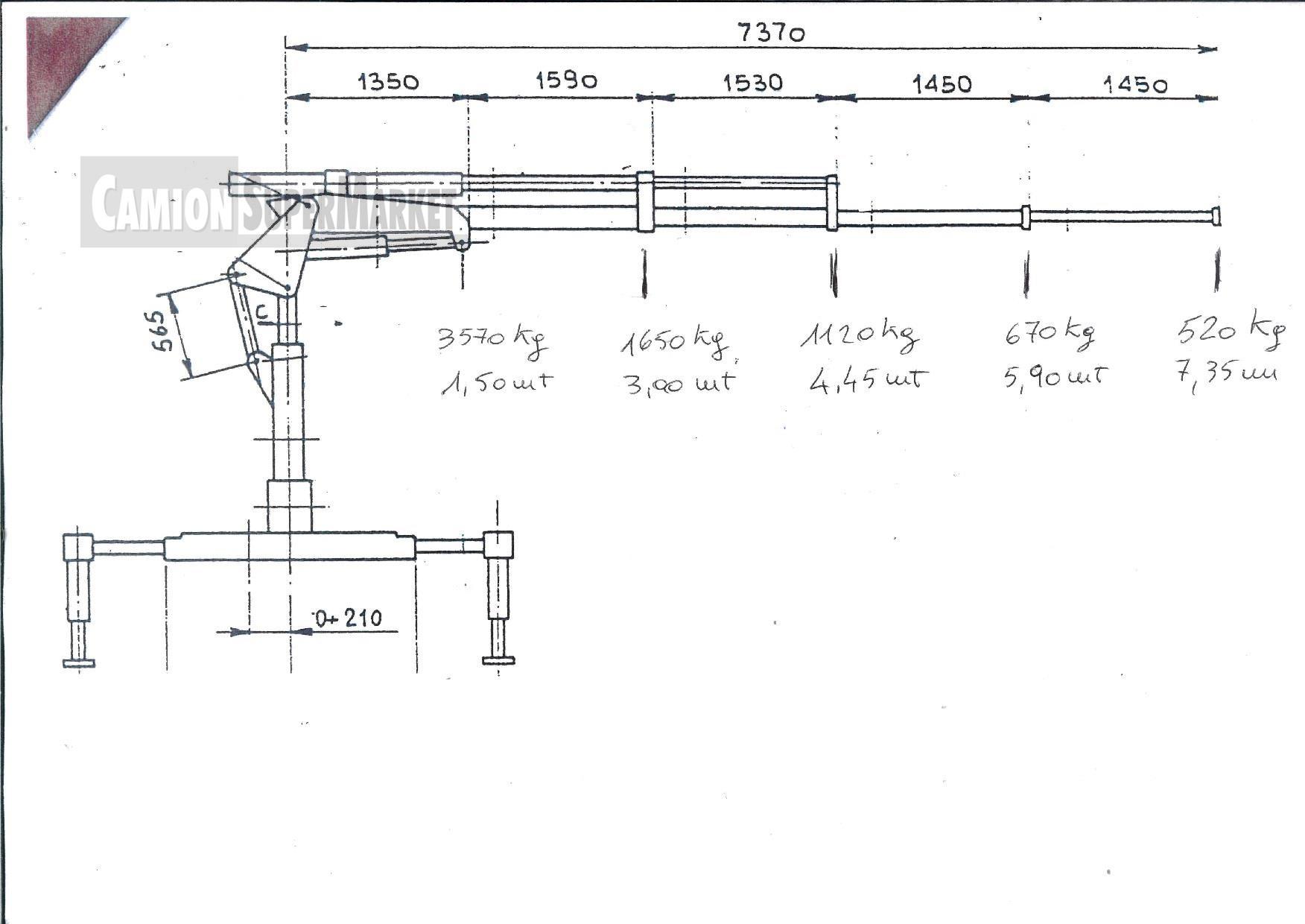 ING|BONFIGLIOLI P5000L1 Usato 1979