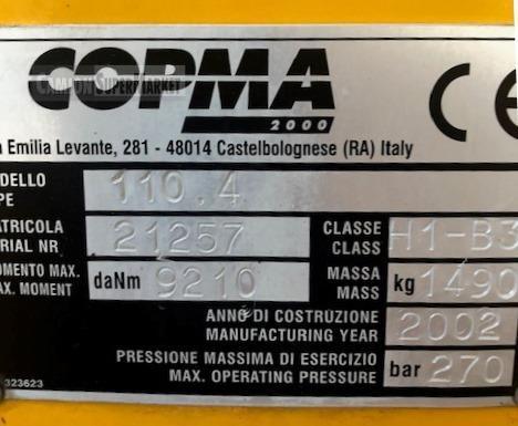 COPMA 110.4 Usato 2002
