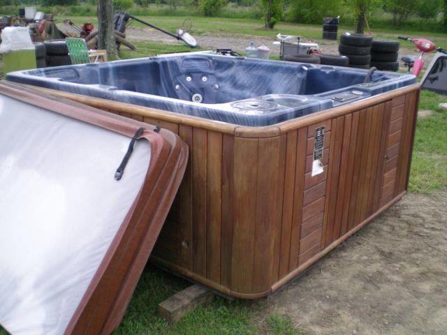 VITA SPA MODEL ESSN HOT TUB | Edinburg Auction Sales, Inc,
