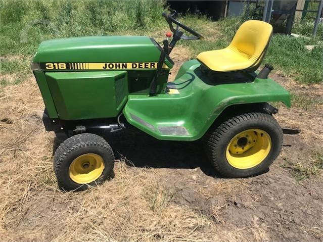 John Deere 318 >> Auctiontime Com John Deere 318 Online Auctions