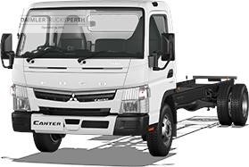 Fuso Canter 4x2 918 Wide Cab LWB 6 Sp DCT