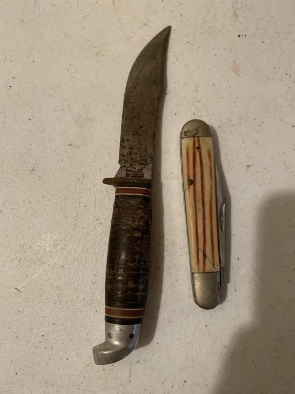 Steel Pocket Knife & Boy Scout Knife | Coughlin Estate Sales