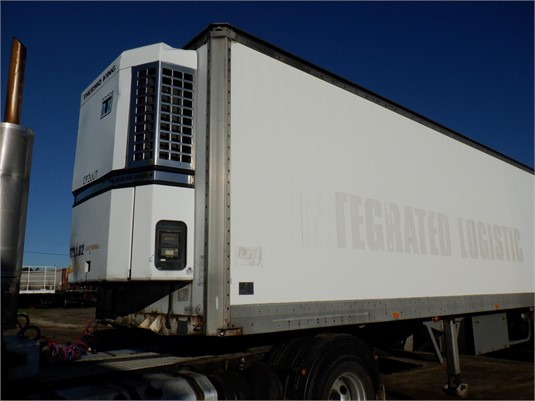 1998 Maxi Cube 22 Pallet Chiller Van - Trailers for Sale