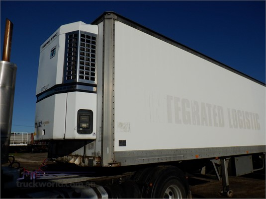 1998 Maxi Cube 22 Pallet Chiller Van Trailers for Sale