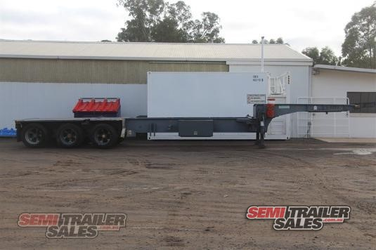 1988 Krueger Drop Deck Skel Trailer Semi Trailer Sales - Trailers for Sale