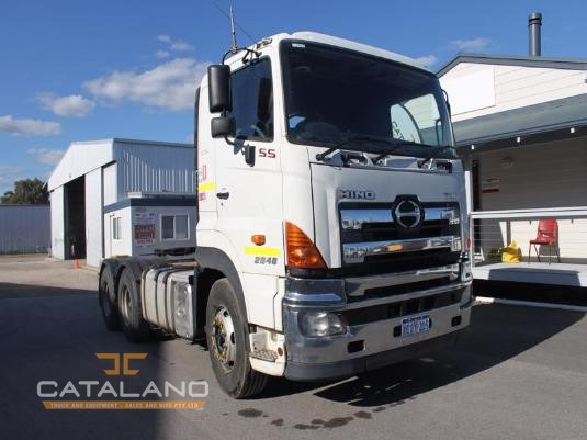 2010 Hino 700 Series Catalano Truck And Equipment Sales And Hire  - Trucks for Sale
