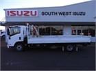2013 Isuzu NPR 400 Long Crane Truck