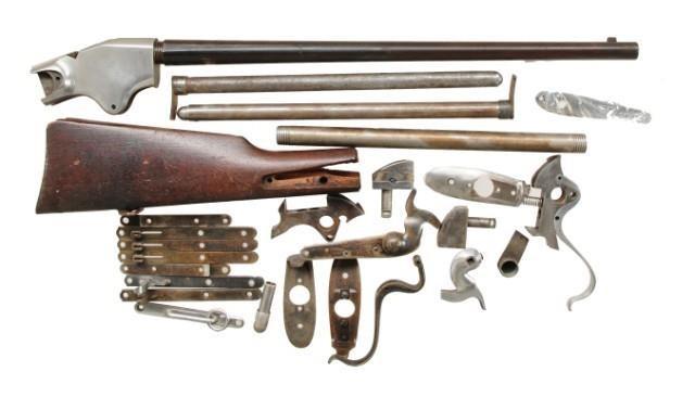 Lot Of Spencer Carbine Parts Poulin S Antiques