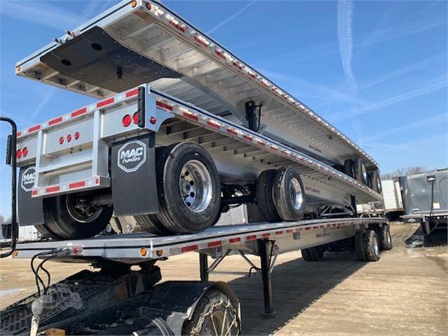 Road Warrior Trailer >> 2020 Mac Trailer Mfg 48 Road Warrior Aluminum Flatbed With Spread Axle