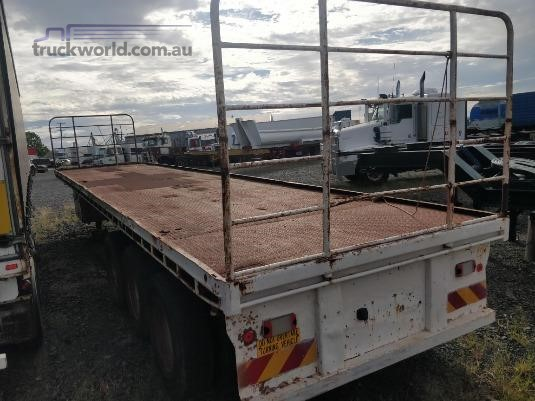 1980 Freighter 40FT Flat Top Semi Trailer Wheellink - Trailers for Sale