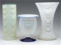 Sample of Fry art glass