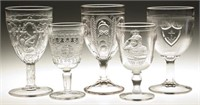 Many good goblets, champagnes and wines